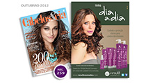 Anúncio Revista Cabelos & Cia - Out 2012