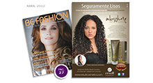 Anúncio Absolute Hair Control - Be Fashion Abril 2012