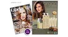 Anúncio Argan - Cabelos & Cia Janeiro 2012