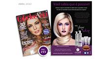 Anúncio Silver Blue - Cabelos & Cia Abril 2012