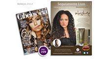 Anúncio Absolute Hair Control - Cabelos & Cia Março 2012
