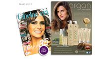 Anúncio Argan - Revista Cabelos & Cia - Maio 2012